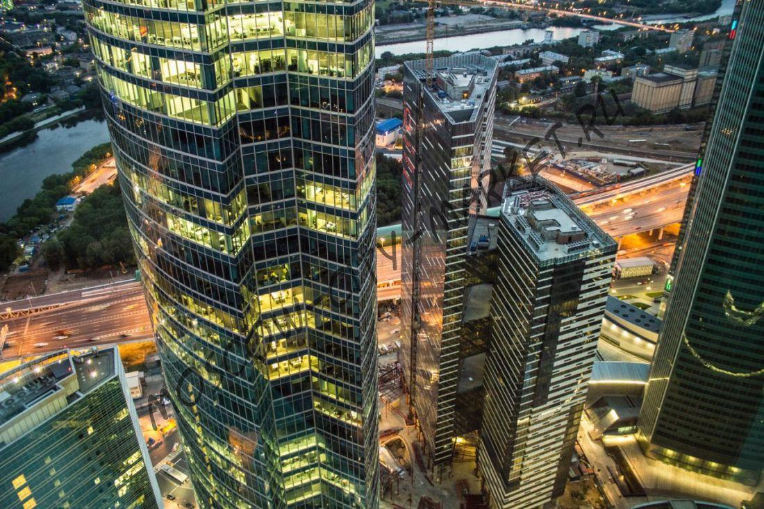Новогодний корпоратив в Москва-Сити 2